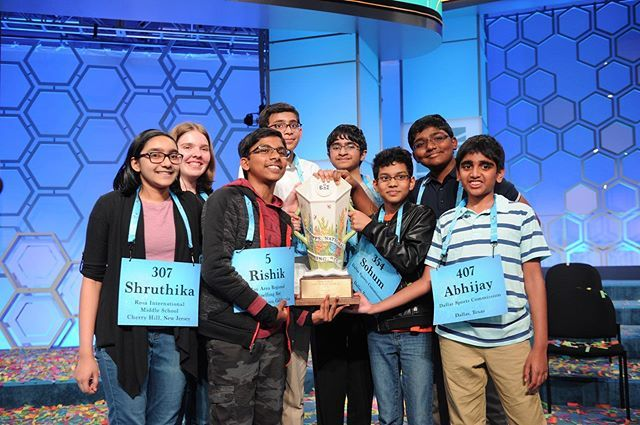 photo courtesy of Scripps National Spelling Bee