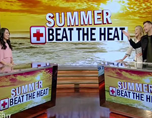 "Live with Kelly and Ryan Beat the Heat"" width="