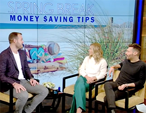 "Live with Kelly and Ryan Spring Break Savings"" width="