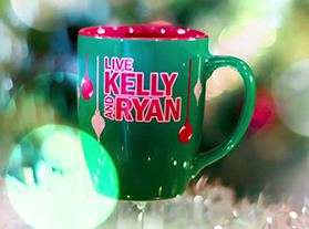 Kelly And Ryan 2020 Christmas Mugs Shop at the Live Store | LIVE with Kelly and Ryan